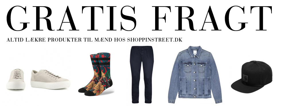 Herre modetøj tilbud- ShoppinStreet.dk - Vesterbrogade Shopping